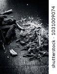 close up of ayurvedic herb... | Shutterstock . vector #1031009074