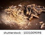 close up of ayurvedic herb... | Shutterstock . vector #1031009098