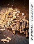 close up of ayurvedic herb... | Shutterstock . vector #1031009104