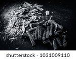 close up of ayurvedic herb... | Shutterstock . vector #1031009110