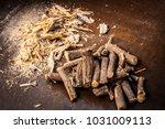 close up of ayurvedic herb...   Shutterstock . vector #1031009113