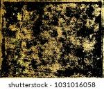 gold  marbling texture design...   Shutterstock .eps vector #1031016058