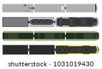 modern trains set isolated on...   Shutterstock .eps vector #1031019430