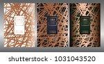 luxury premium menu design... | Shutterstock .eps vector #1031043520