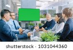 diverse group of successful... | Shutterstock . vector #1031044360
