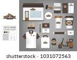 corporate identity template set ... | Shutterstock .eps vector #1031072563