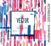 modern trendy card banner...   Shutterstock .eps vector #1031086126