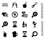 solid vector icon set  ... | Shutterstock .eps vector #1031091670