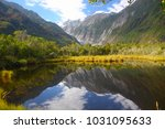 peters pool at the begining of... | Shutterstock . vector #1031095633