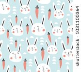 vector seamless pattern with... | Shutterstock .eps vector #1031100364