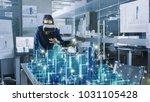 professional female architect... | Shutterstock . vector #1031105428