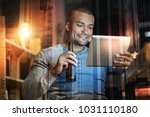 leisure time. happy young... | Shutterstock . vector #1031110180