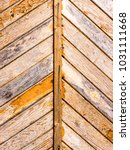 the wooden background and... | Shutterstock . vector #1031111668