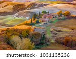 tuscany   landscape panorama ... | Shutterstock . vector #1031135236