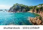 a view of the picturesque bay... | Shutterstock . vector #1031135869