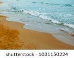 the mediterranean at dawn   Shutterstock . vector #1031150224