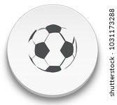football ball icon | Shutterstock .eps vector #1031173288