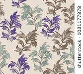 seamless floral pattern....   Shutterstock .eps vector #1031177878