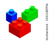 isometric vector set of... | Shutterstock .eps vector #1031180956