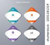 infographic  template desgin... | Shutterstock .eps vector #1031181319