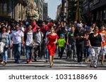 mexico city  mexico   november... | Shutterstock . vector #1031188696