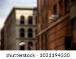 detail exterior of old pre... | Shutterstock . vector #1031194330
