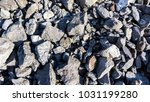 stones lying on the floor close ... | Shutterstock . vector #1031199280