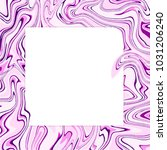 vector violet marble abstract... | Shutterstock .eps vector #1031206240
