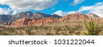 Panoramic Views Of Red Rock...