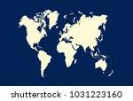 world map vector   Shutterstock .eps vector #1031223160