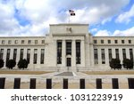 federal reserve building in... | Shutterstock . vector #1031223919