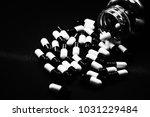 pills in capsules | Shutterstock . vector #1031229484