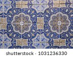 detail of traditional tiles on...   Shutterstock . vector #1031236330