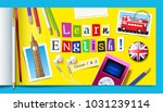 concept of english language... | Shutterstock .eps vector #1031239114