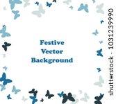 festive butterfly confetti...