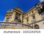 national opera paris... | Shutterstock . vector #1031242924