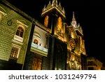 cathedral of ba os in ecuador | Shutterstock . vector #1031249794