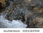 Rushing Water Over Stream...