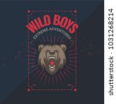 big bear wild boys badge