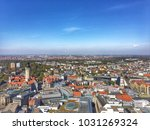 leipzig city view | Shutterstock . vector #1031269324