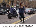 milan  italy   february 22 ... | Shutterstock . vector #1031274760