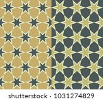 a seamless pattern in two...   Shutterstock .eps vector #1031274829