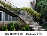 spring time  outdoor steps | Shutterstock . vector #103127570