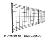 grey  grating wire industrial... | Shutterstock . vector #1031285500