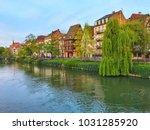 strasbourg city view | Shutterstock . vector #1031285920