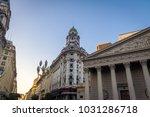 buildings in downtown buenos... | Shutterstock . vector #1031286718