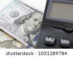 calculator with american...   Shutterstock . vector #1031289784