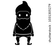 isolated gnome icon | Shutterstock .eps vector #1031305279
