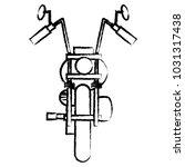 classic motorcycle design | Shutterstock .eps vector #1031317438