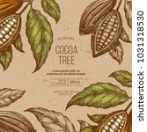 Cocoa Bean Tree Frame Design...
